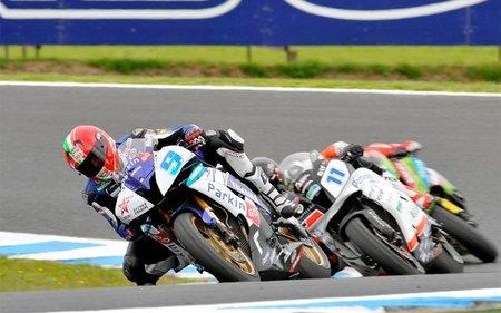 Supersport Australia 2011: Luca Scassa en el espectáculo de 600cc
