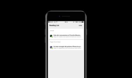 Chrome para iOS añade una lista de lectura propia como Safari para leer offline