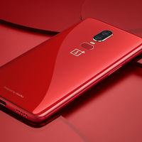 OnePlus 6 se viste de rojo, al mismo precio y con 8 GB de RAM y 128 GB de almacenamiento