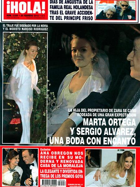 Marta Ortega en Hola