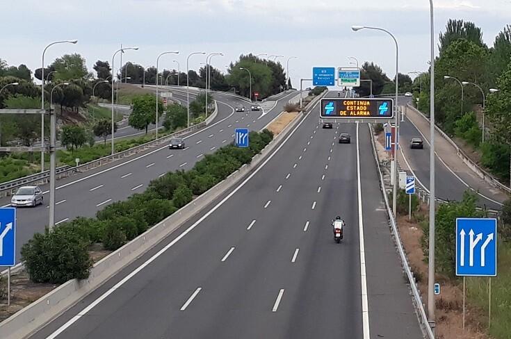 Estado de alarma: ¿se podrá viajar en coche en el puente de Todos los Santos?