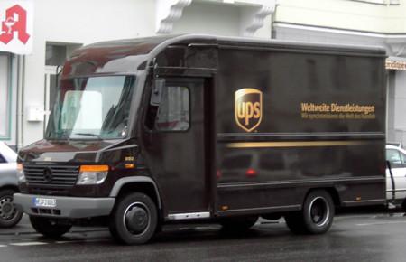 UPS camión