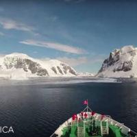 Un viaje de tres minutos para llegar a la Antártida (Time Lapse vídeo)