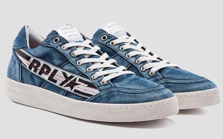 Los Sneakers De Verano De Replay Se Llevan En Clave Retro Y Por Supuesto En Denim