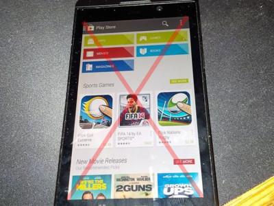 Blackberry asegura que no pondrán Google Play en BB10