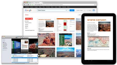 Google Drive. La nube de Google ya está aquí