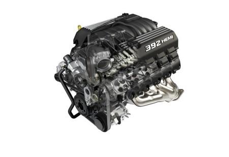 Motor HEMI V8 de 392 pulgadas cúbicas