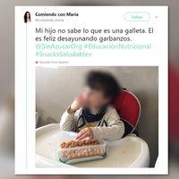 Garbanzos para desayunar: la polémica imagen de una nutricionista que ha herido a todo Twitter