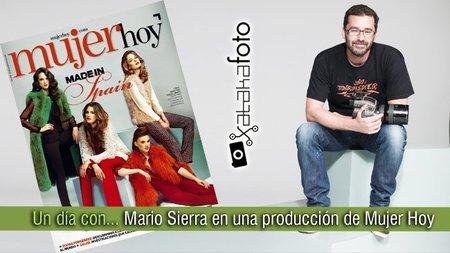 Un día con... Mario Sierra en una producción de Mujer Hoy