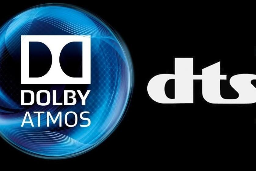 Dolby Atmos y DTS:X ofrecen un sonido espectacular, pero