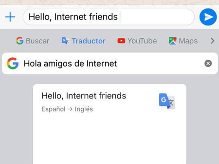 Gboard se actualiza en iOS para integrar el traductor de Google en el teclado