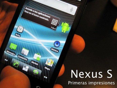 GoogleNexusS.Impresiones