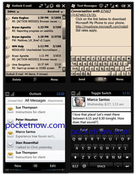 Windows Mobile 7, algunos detalles e imágenes