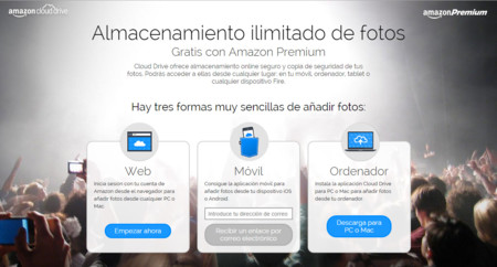 Amazon Premium Fotos