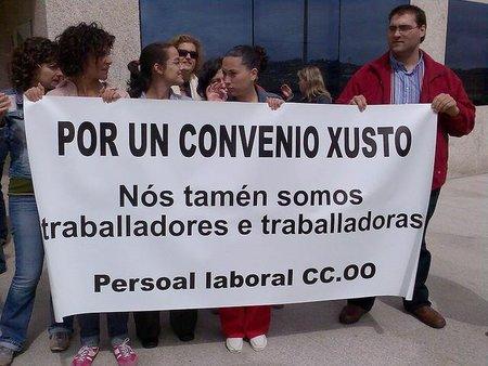 Las modificaciones de los convenios sólo afectaron a un 8% de los trabajadores en 2010