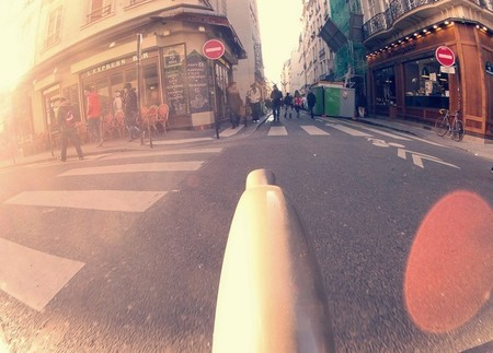 Bicicleta en París