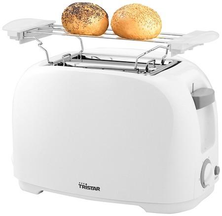 ¿Buscas una tostadora barata? La  tostadora de 800 W Tristar BR-1013 sólo cuesta 12,95 euros en Amazon