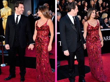 Penélope Cruz y Javier Bardem se pasean juntos por la alfombra roja de los Oscars ¡ya era hora!