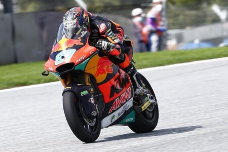Remy Gardner priva a Ai Ogura de liderar los entrenamientos de Moto2 y Raúl Fernández ya reacciona