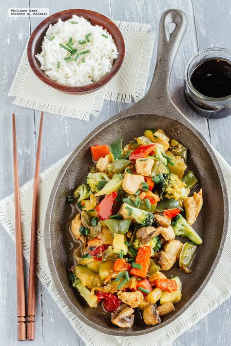 Teppenyaki Verduras