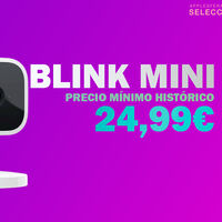 Los usuarios Amazon Prime pueden llevarse la cámara de vigilancia doméstica Blink Mini a su precio mínimo histórico de 24,99 euros