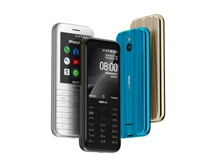 """Nokia 6300 4G y Nokia 8000 4G: dos leyendas regresan, ahora con KaiOS para ser """"más inteligentes"""""""