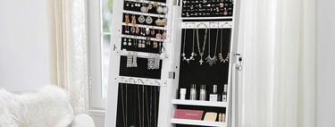 Cinco armarios joyero para dar un plus a nuestra decoración y mantener las piezas organizadas