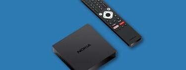 Nokia Streaming Box 8000, un nuevo reproductor multimedia con Android TV 10 y 4K que llega a Europa por menos de 100 euros