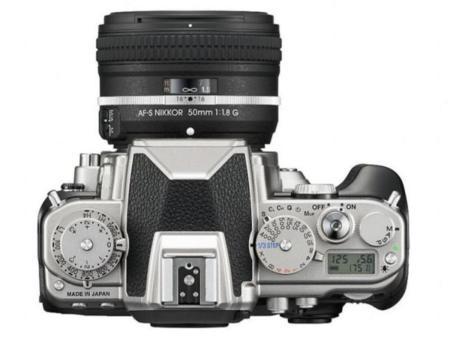 Nikon Df desde arriba