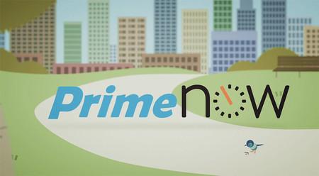 10 Euros de descuento para Amazon Prime Now