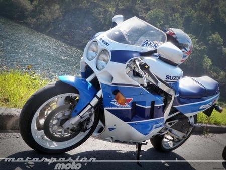 Aquellas maravillosas motos: prueba Suzuki GSX-R 750 (conducción)