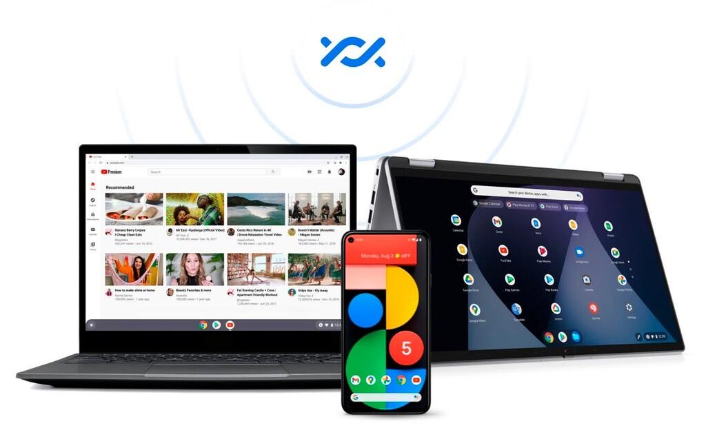 Google acerca los Chromebooks a los celulares Android: compartir archivos(datos) con Nearby Share ya es posible