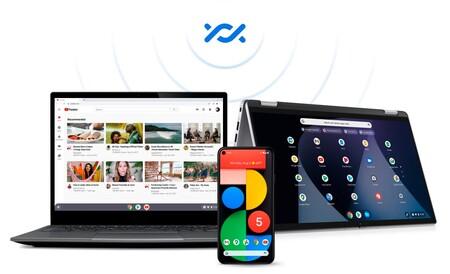 Google acerca los Chromebooks a los móviles Android: compartir archivos con Nearby Share ya es posible