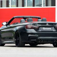 G-Power BMW M4 Cabrio: hasta los 600 CV para 'volar' con la melena al viento