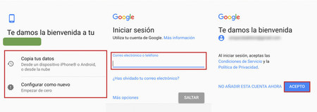 Asistente Configuracion Android