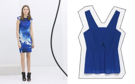 Tendencias low-cost Primavera-Verano 2014 azul klein Zara