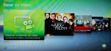 Bazar de vídeo de Xbox 360: lo probamos