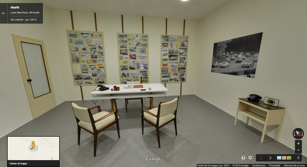 Foto de Paseo virtual por las oficinas Abarth (6/11)