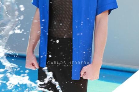 Carlos Herrera explora la infinidad del azul en su colección Resort 2016