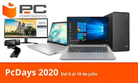 Las ofertas del día en los PcDays 2020 de PcComponentes: portátiles Lenovo o Acer, impresoras y sobremesa HP, monitores LG o webcams Logitech a los mejores precios
