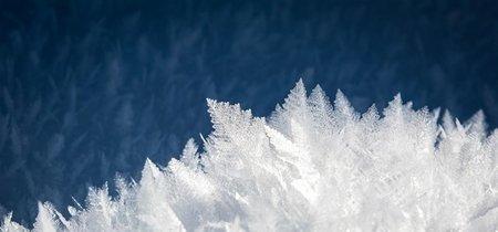 Una forma extraña de hielo que solo está naturalmente en otros mundos