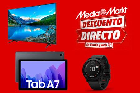 Esta Smart TV 4K TCL con Dolby Atmos por 274 euros y las ocho mejores ofertas de la campaña Descuento Directo de MediaMarkt