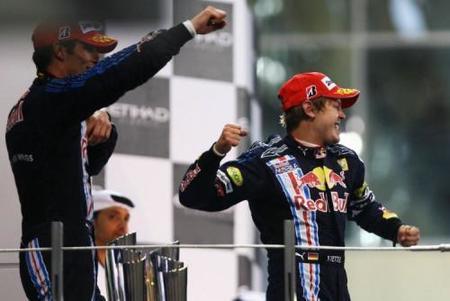 Doblete de Red Bull en el Gran Premio de Abu Dhabi