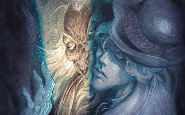 Detalle de la portada del Dorian Gray