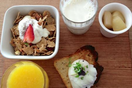 que desayunar para eliminar grasa