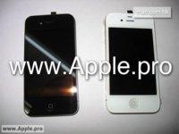 Aparece un nuevo iPhone 4G pero esta vez en blanco