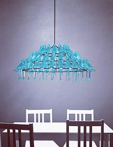 Una gran lámpara para tuiteros