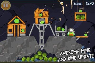 Angry Birds, su capítulo Mine and Dine recibe 15 nuevos niveles