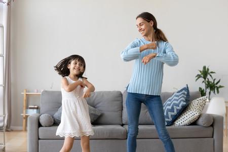 bailar con los hijos