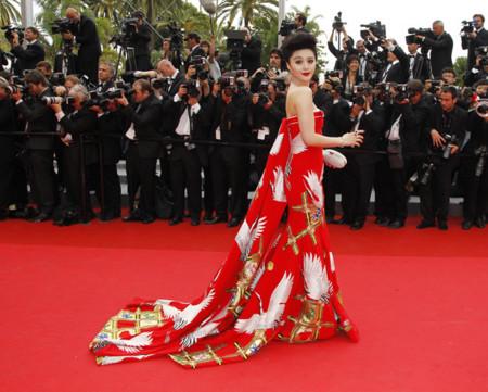 Fan Bingbing mejor vestidas Festival Cannes